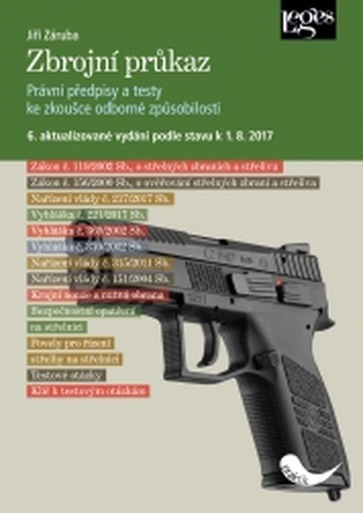 Zbrojní průkaz - Jiří Záruba