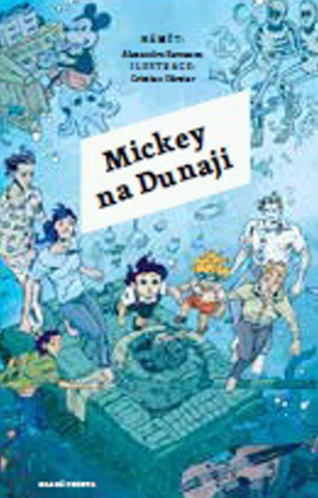 Mladá fronta Alexandru Berceanu Mickey na Dunaji