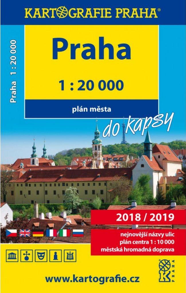Praha do kapsy 1:20 000