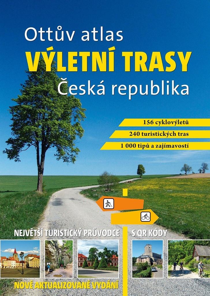 Ottův atlas výletní trasy Česká republika - Ivo Paulík