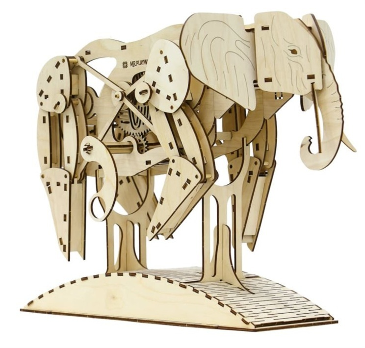 3D puzzle Slon 159 dílků