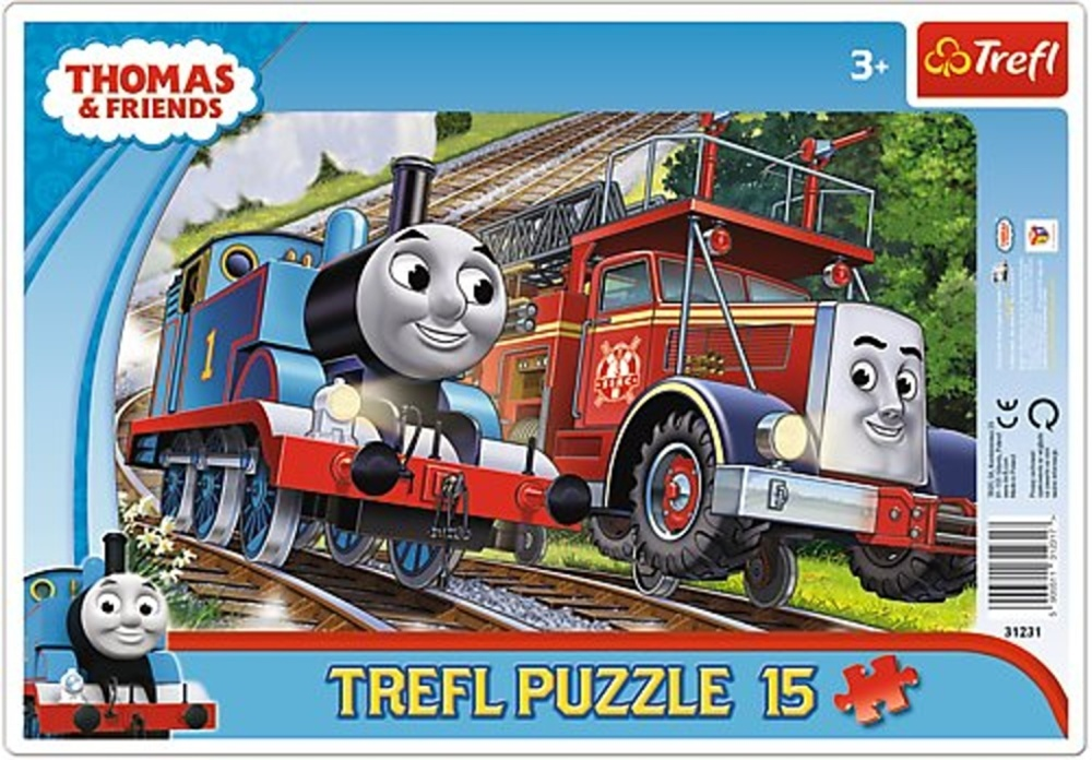 Puzzle Mašinka Tomáš a hasič Flynn