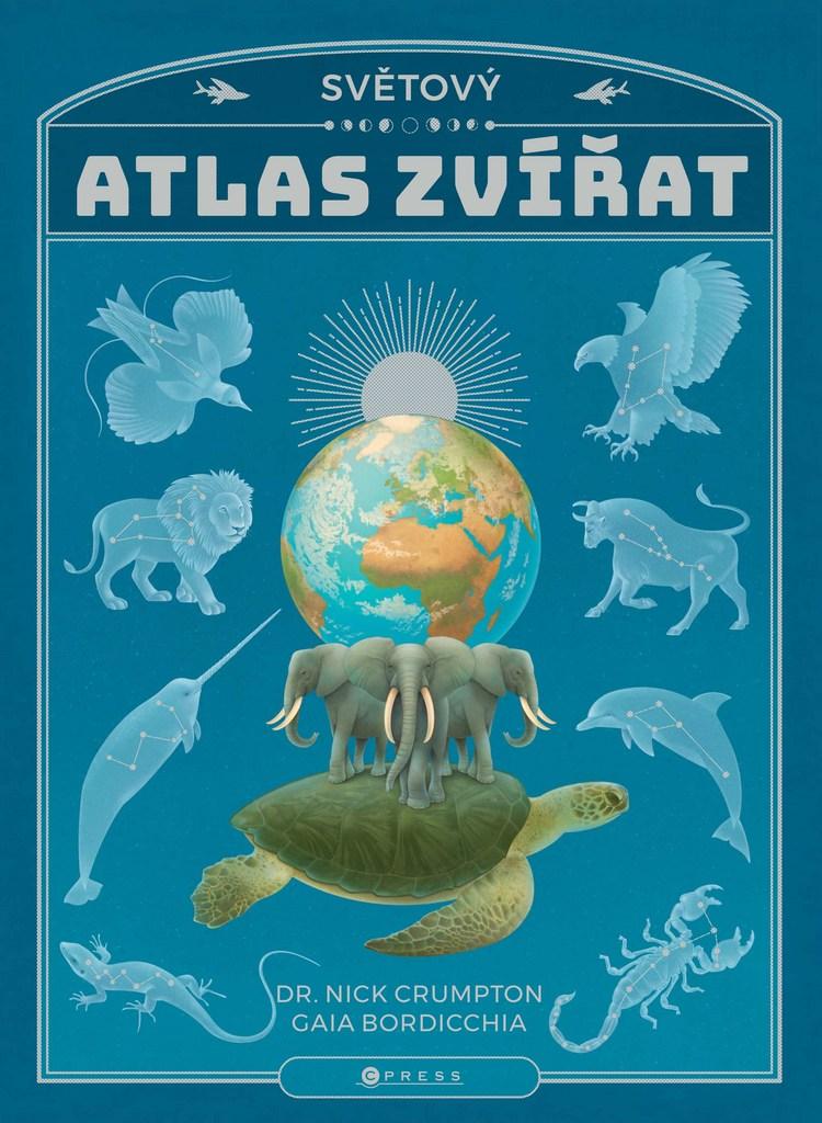 Světový atlas zvířat - Nick Crumpton