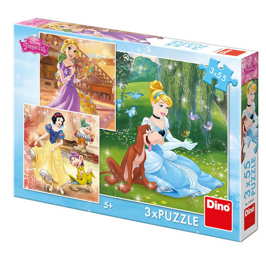 Puzzle Princezny Volné odpoledne