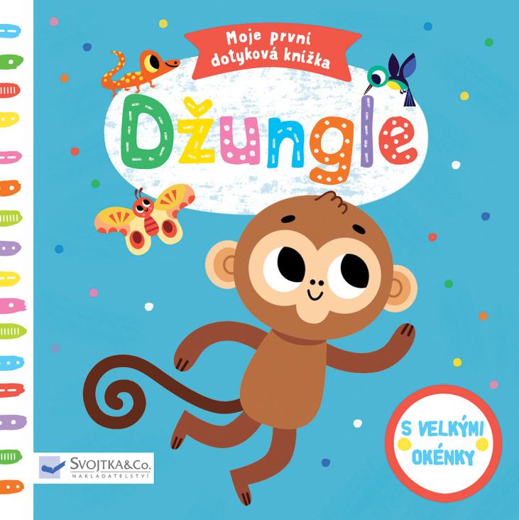 Moje první dotyková knížka Džungle - Tiago Americo