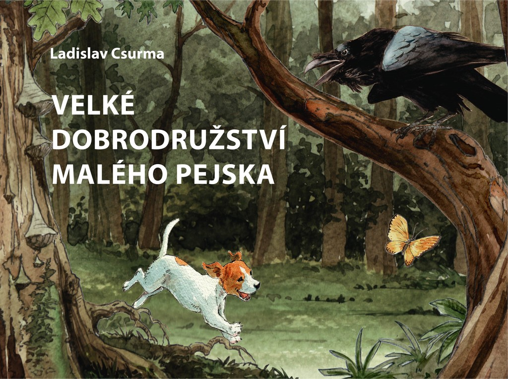Velké dobrodružství malého pejska - Ladislav Csurma