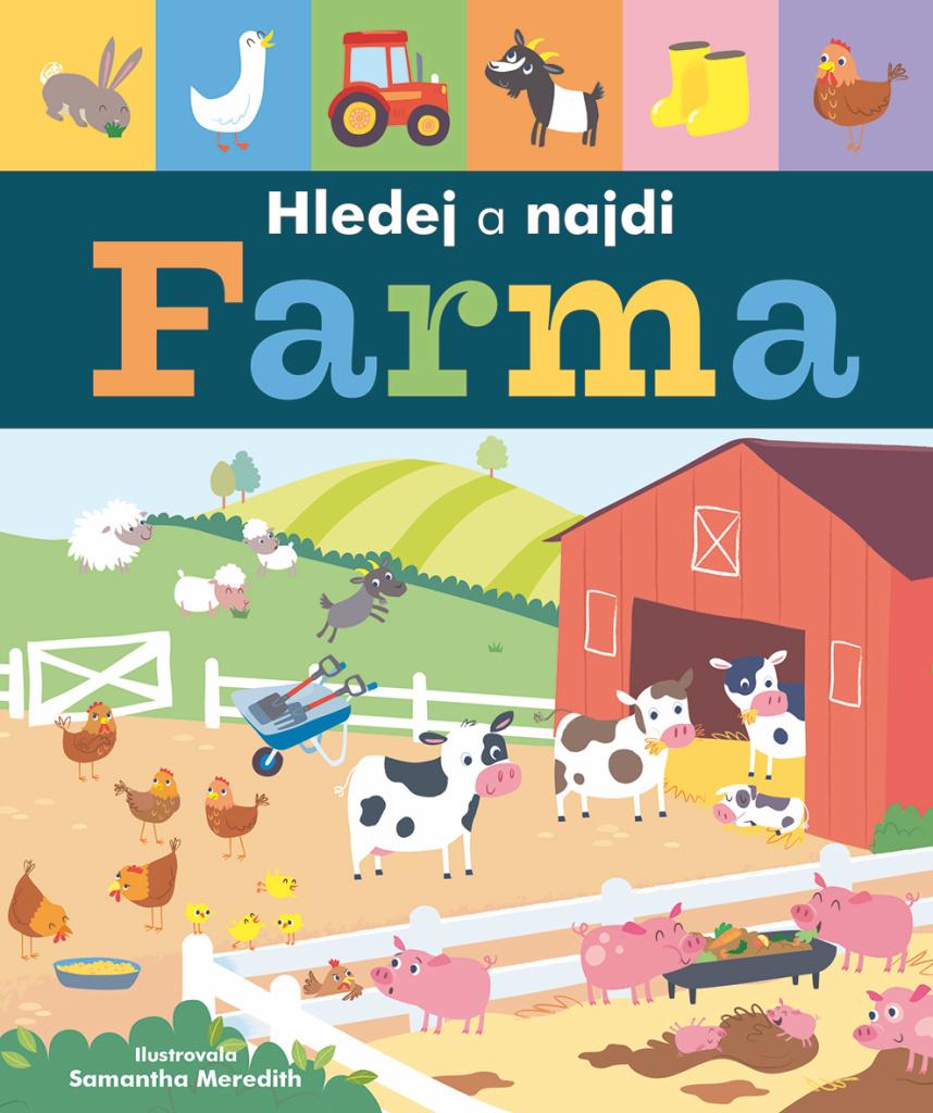 Farma Hledej a najdi - Libby Walden
