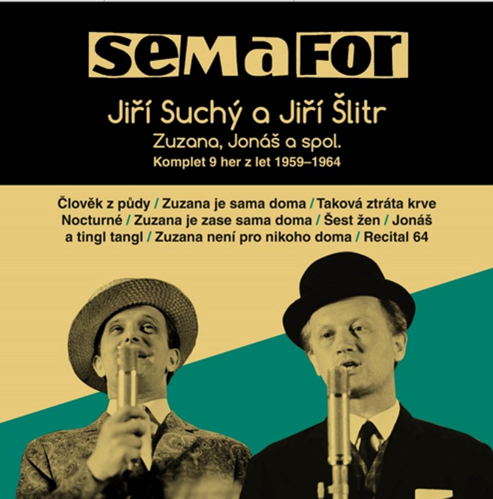 Semafor Komplet 9 her z let 1959-1964 - Jiří Šlitr