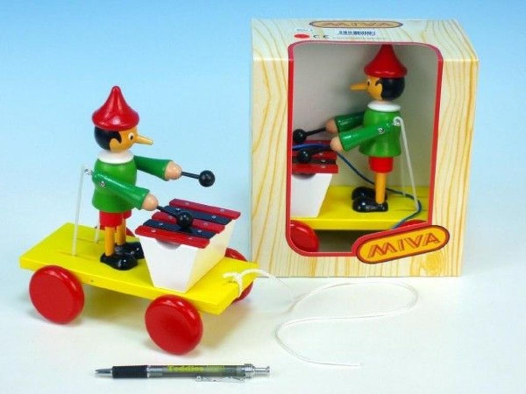 Pinocchio s xylofonem tahací