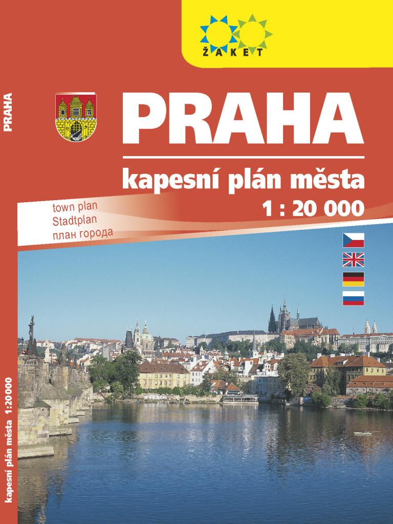 Praha kapesní plán města
