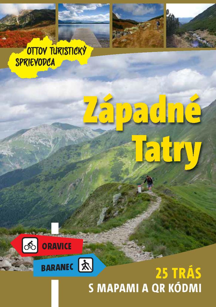 Západné Tatry Ottov turistický sprievodca