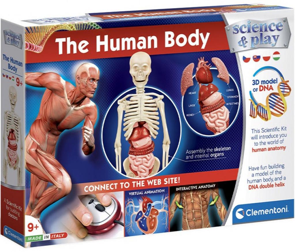 Dětská laboratoř Lidské tělo
