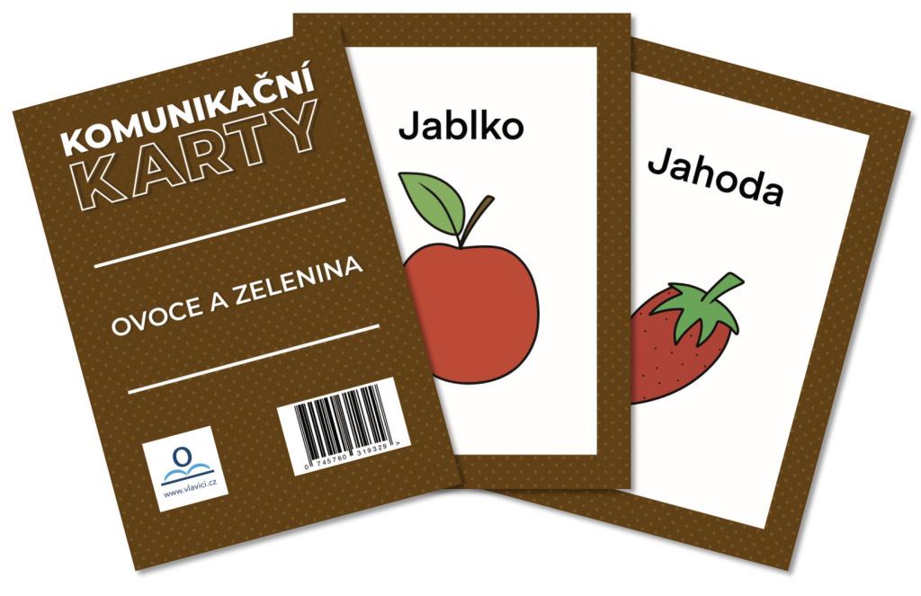Komunikační karty Ovoce a zelenina - Martin Staněk