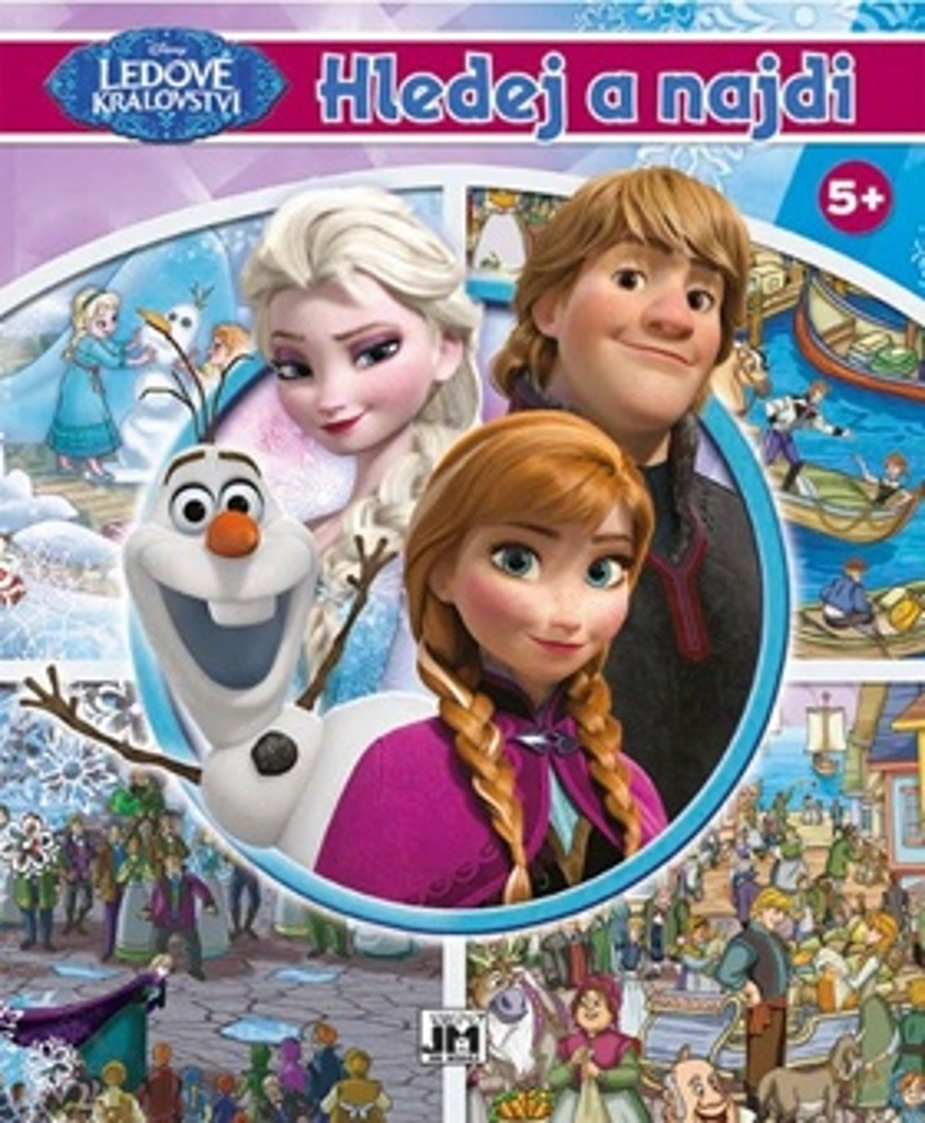 Hledej a najdi Frozen