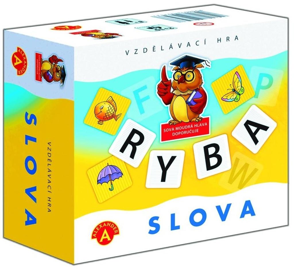 Slova didaktická společenská hra v krabičce