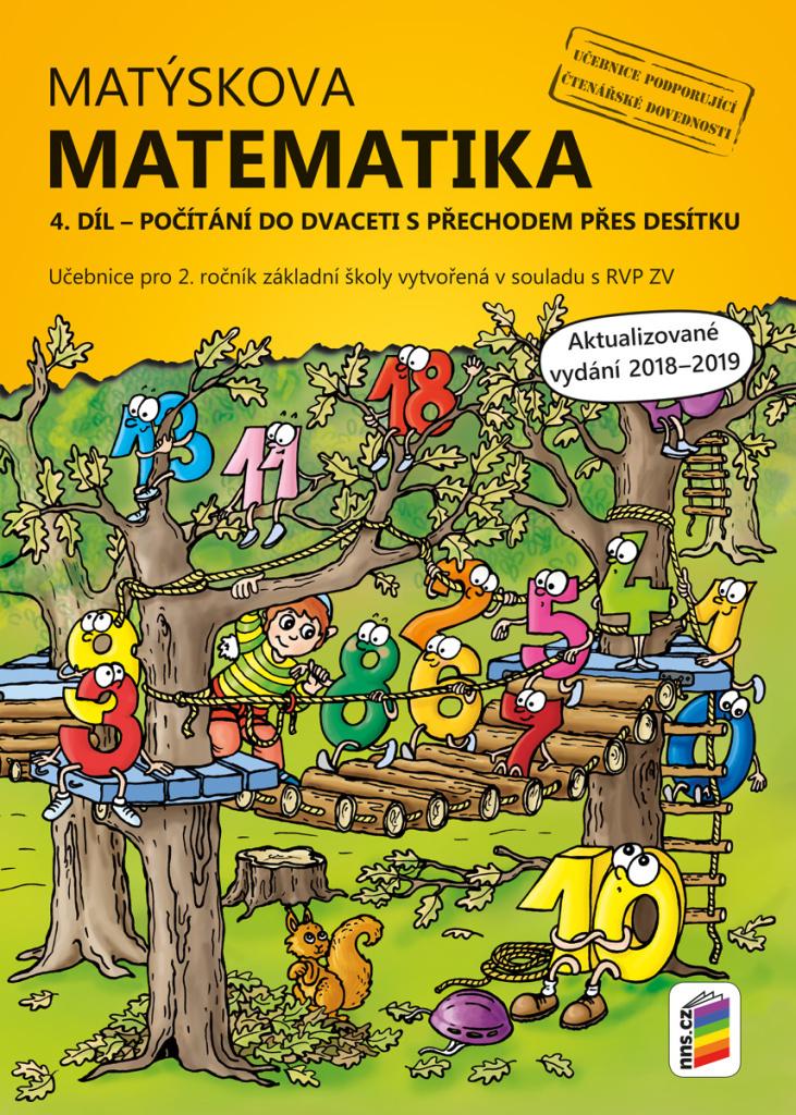 Matýskova matematika 4. díl Počítání do dvaceti s přechodem přes desítku