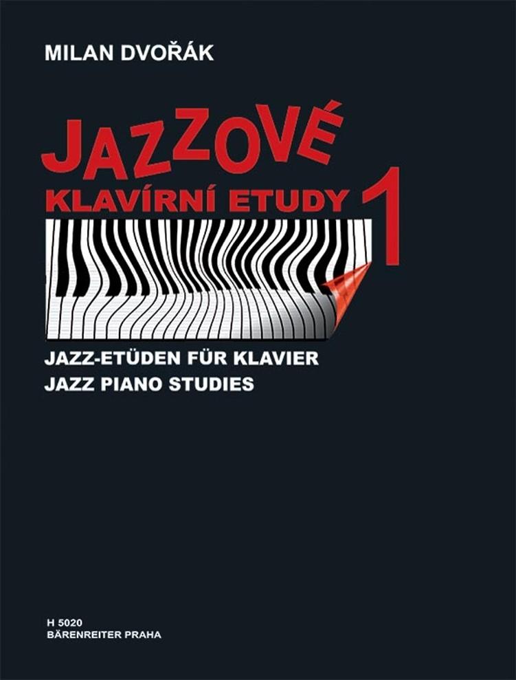 Jazzové klavírní etudy 1 - Milan Dvořák